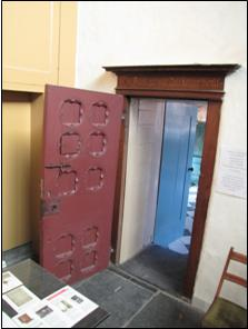 The Red Door in the Old Church