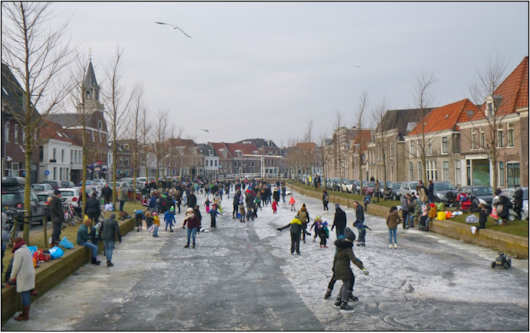 Holland ice skating